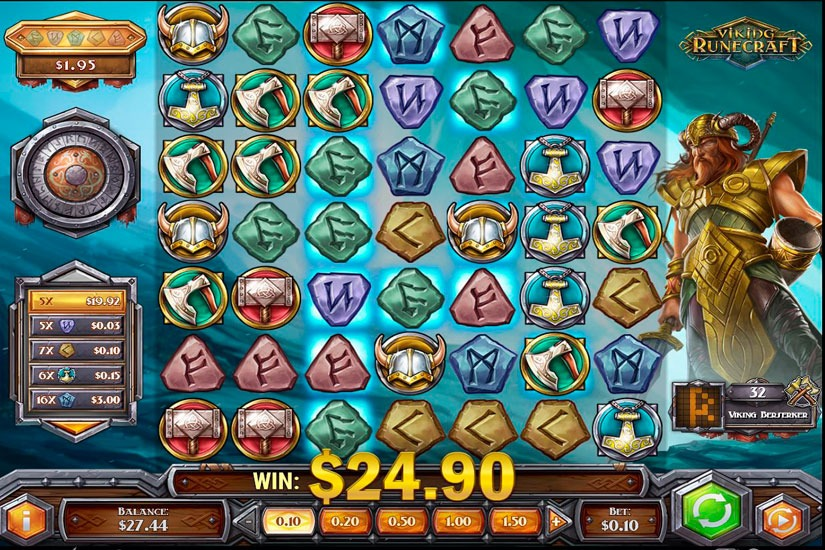 Viking Runecraft Slot Machine Review
