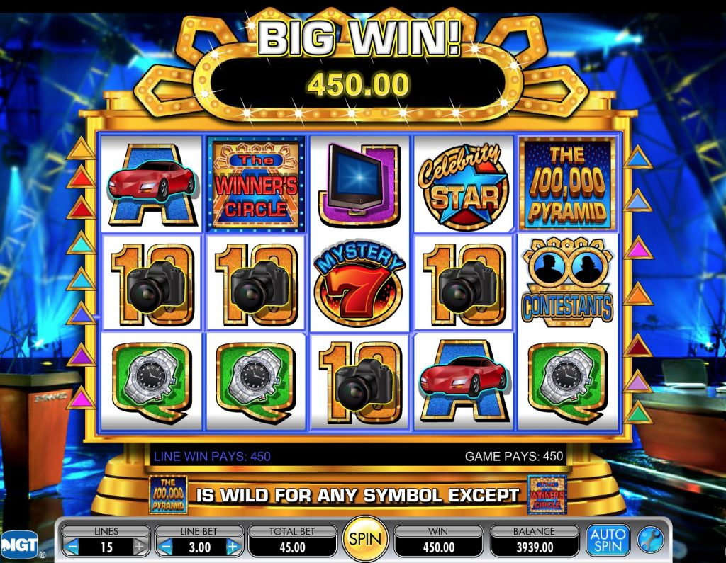 The 100,000 Pyramid Slot Machine Review