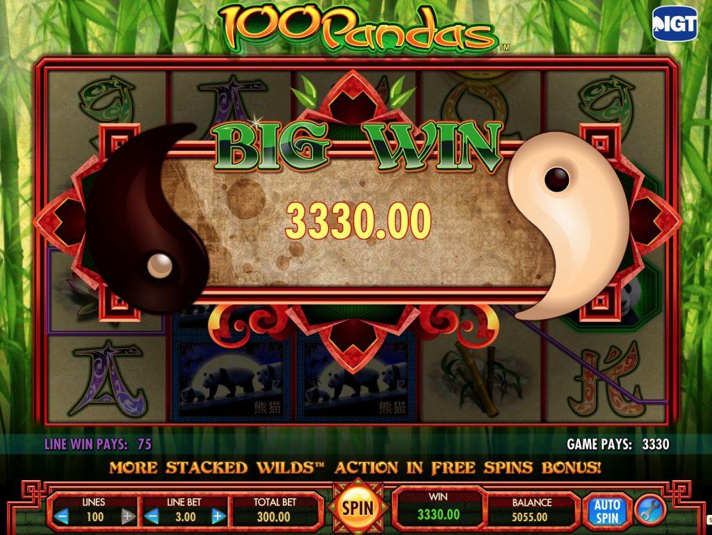 100 Pandas Slot Machine Review