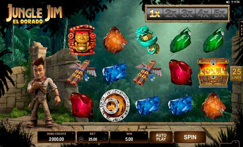 Jungle Jim El Dorado Slot Machine Online