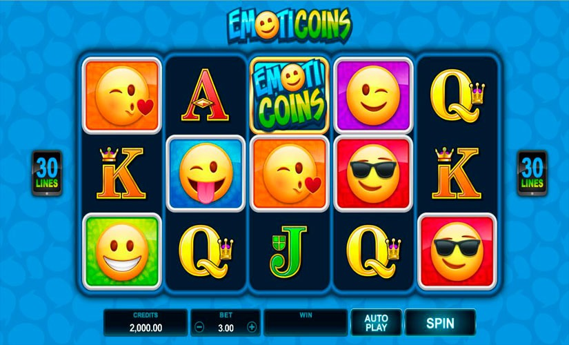 EmotiCoins Slot Machine Review