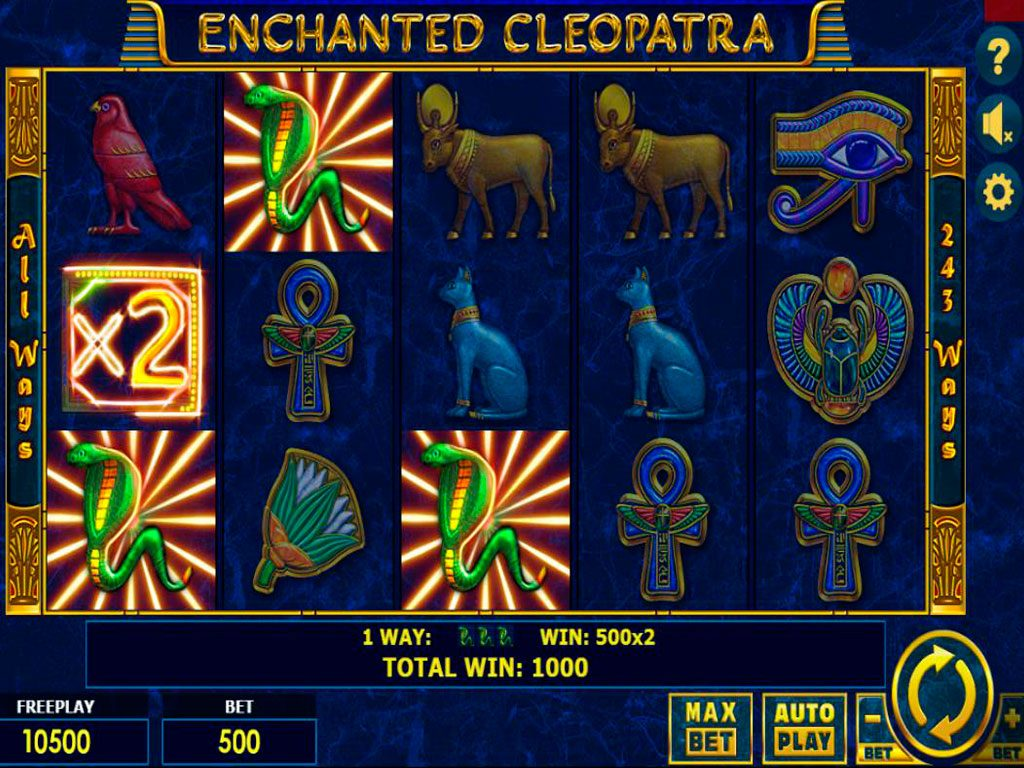Enchanted Cleopatra Slot Machine Review