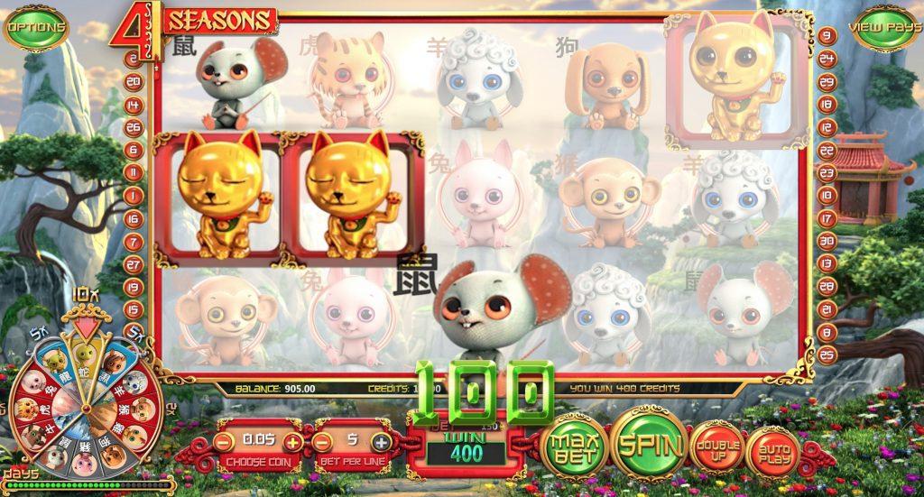 4 Seasons Slot Machine Review