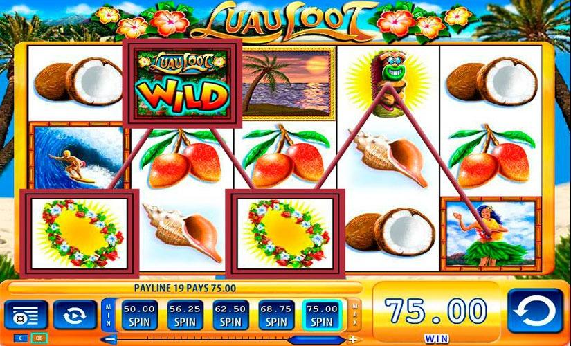 Luau Loot Slot Machine Online