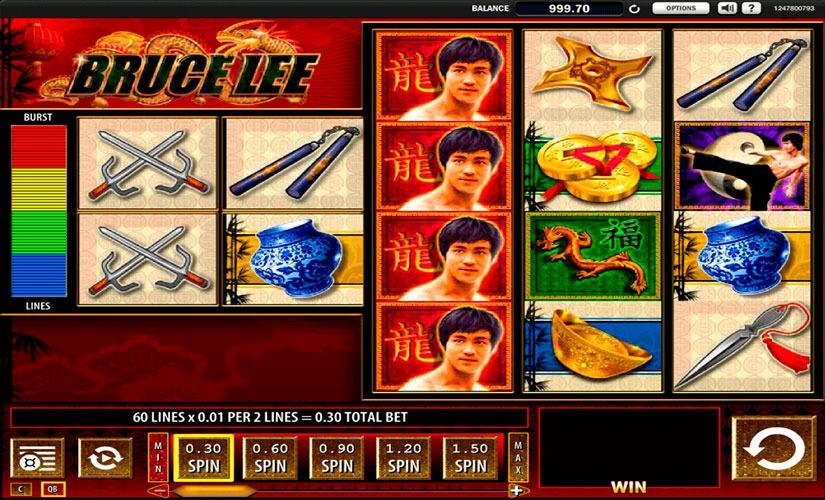 Bruce Lee Slot Machine Online