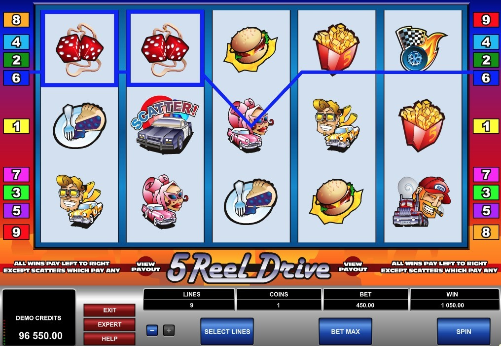5 Reel Drive Slot Game Online