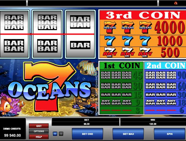 7 Oceans Slot Game Online