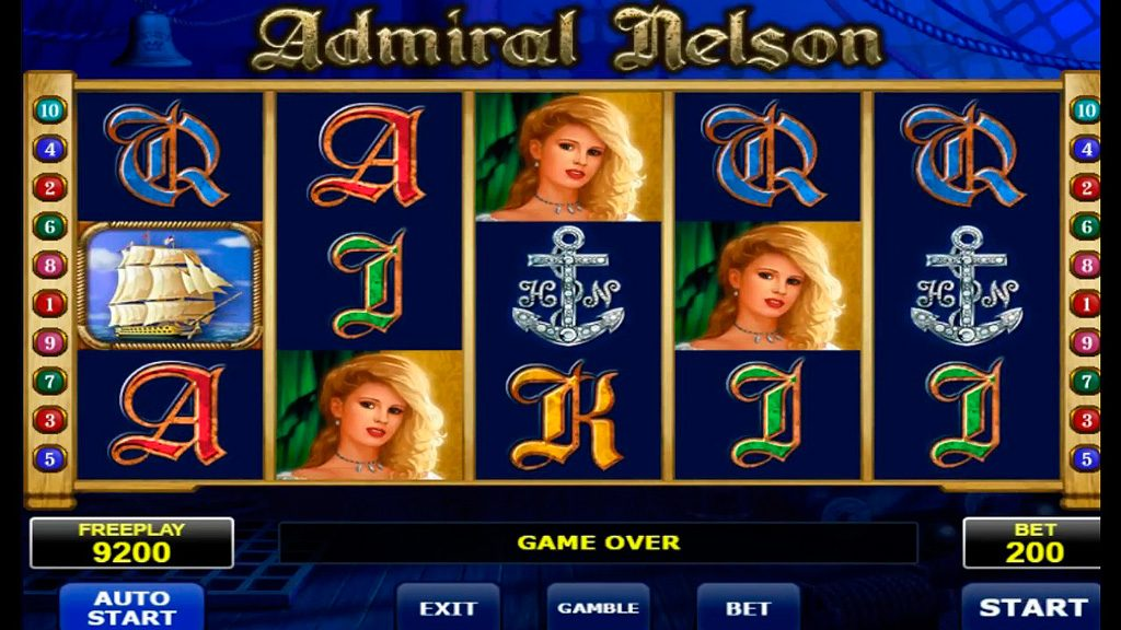 Admiral Nelson Slot Machine Review