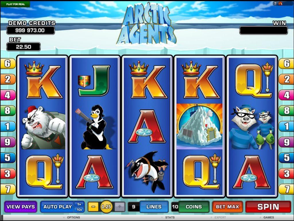Arctic Agents Slot Machine Online