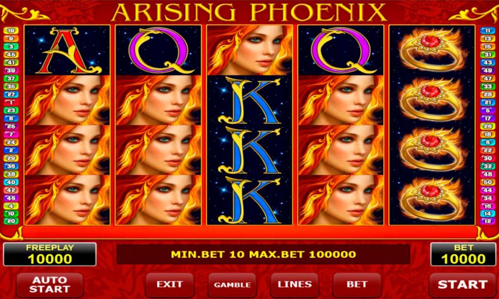 Arising Phoenix Slot Machine Review