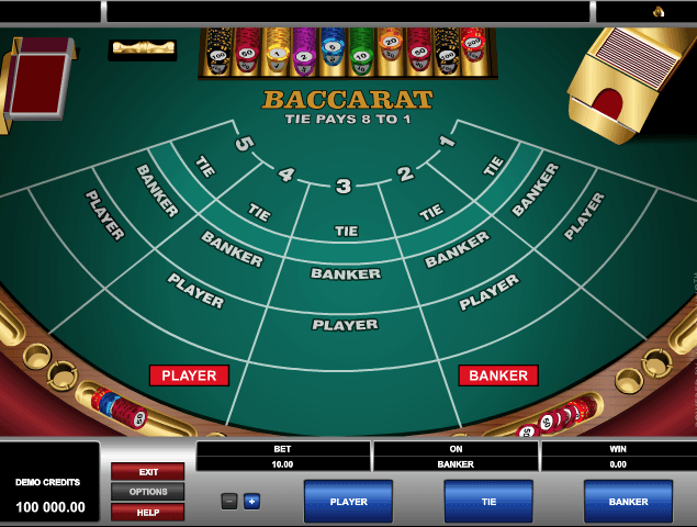 Classic Baccarat Game Online