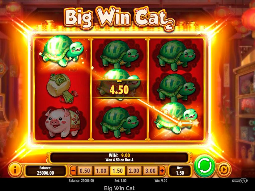 Big Win Cat Slot Machine Review