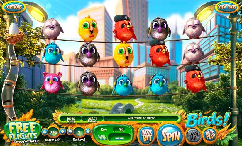 Birds Slot Machine