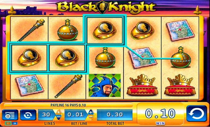Black Knight Slot Machine Online