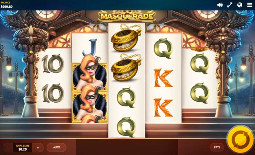 Masquerade Slot Machine Online