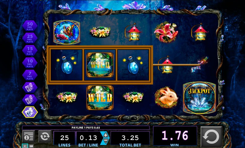 Crystal Forest Slot Machine Review