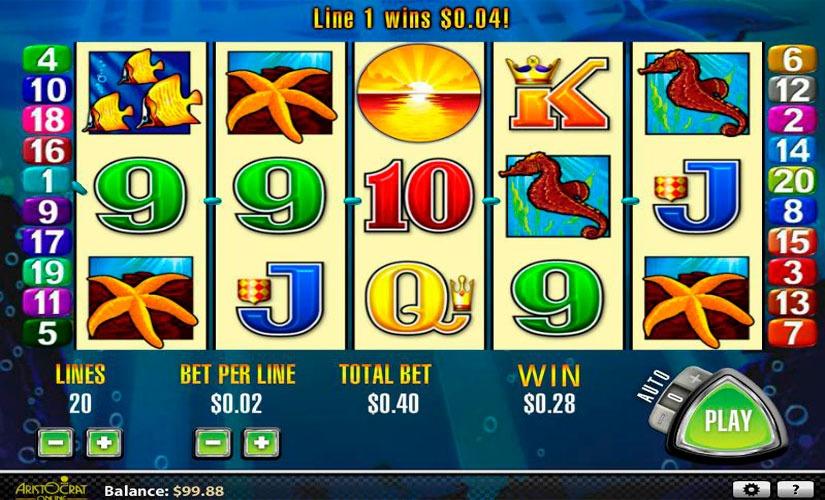 Dolphin Treasure Slot Machine Online