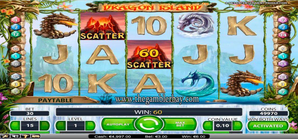 Dragon Island Slot Machine Game