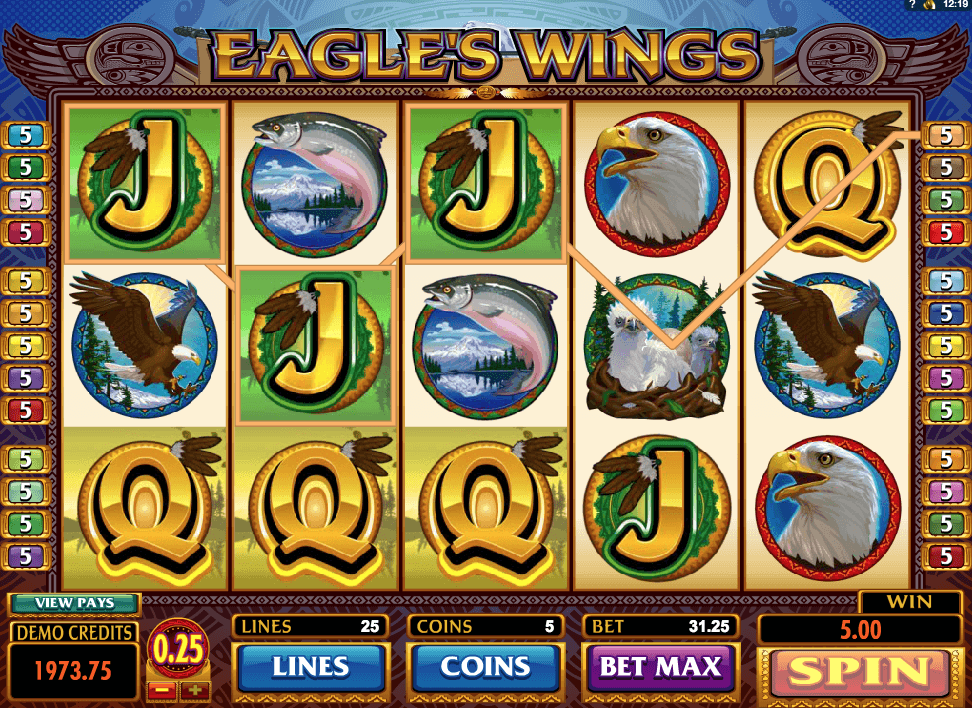Eagle Wings Slot Game Online