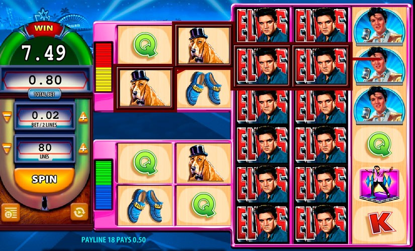 Elvis: The King Lives Slot Machine Review