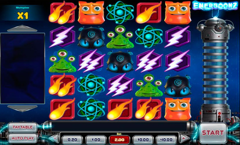 Energoonz Slot Machine