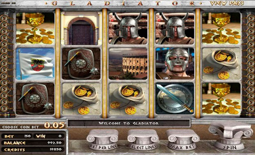 Gladiator Slot Machine Review