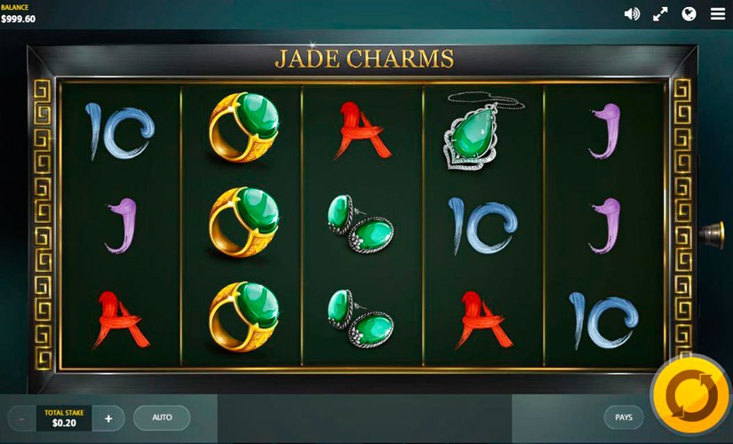 Jade Charms Slot Machine Online