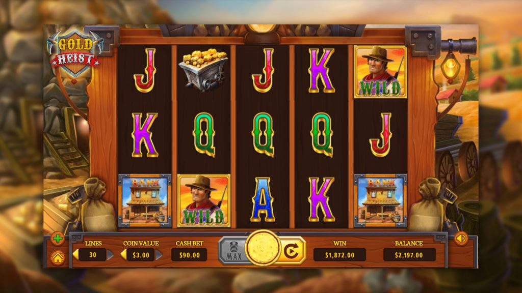 Gold Heist Gameplay
