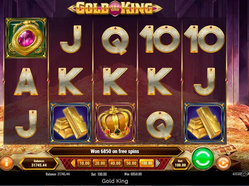 Gold King Slot Machine Review