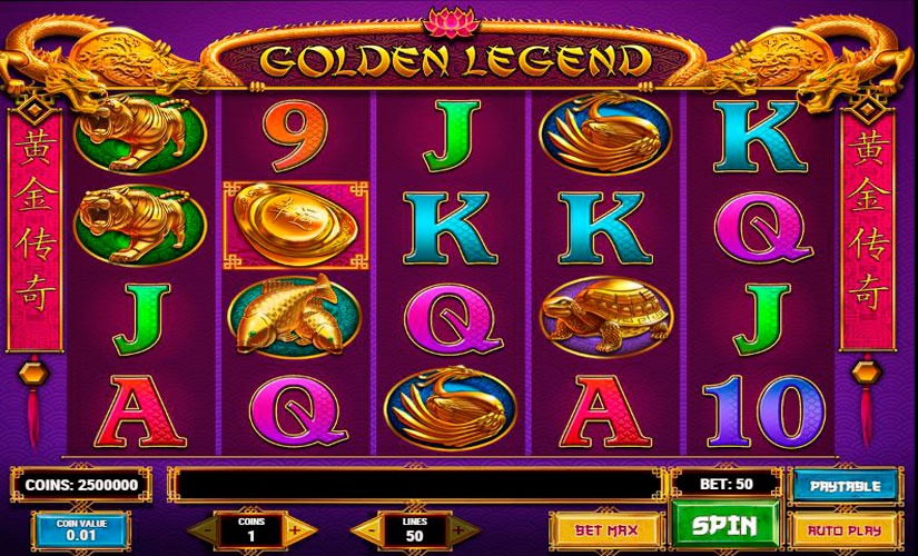 Golden Legend Slot Machine Review