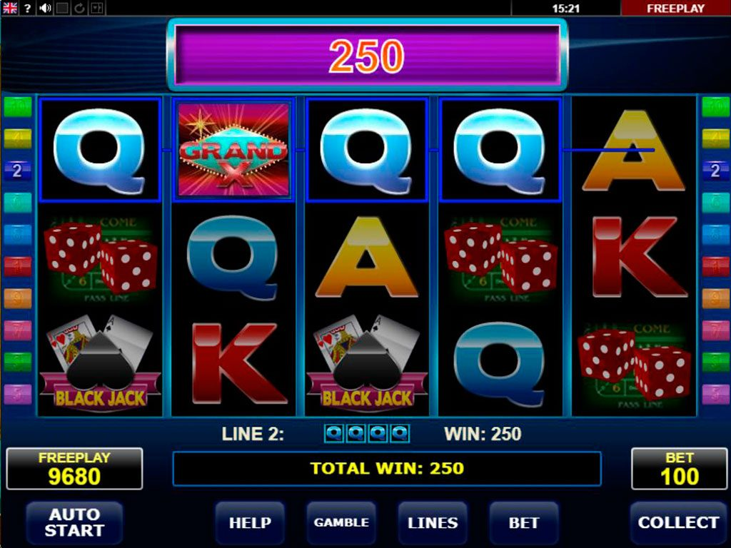 Grand X Slot Machine Review