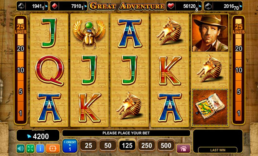 Great Adventure Slot Machine Review