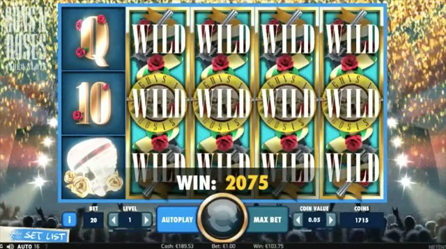 Guns And Roses Slot Review