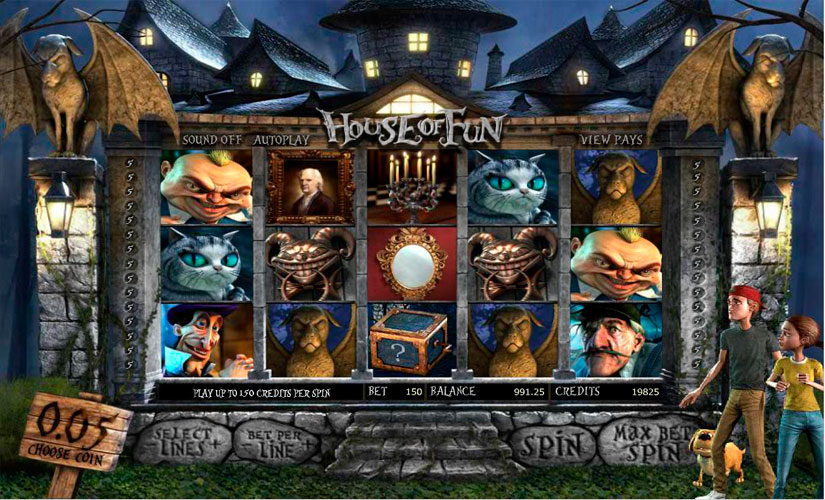 House of Fun Slot Machine Review