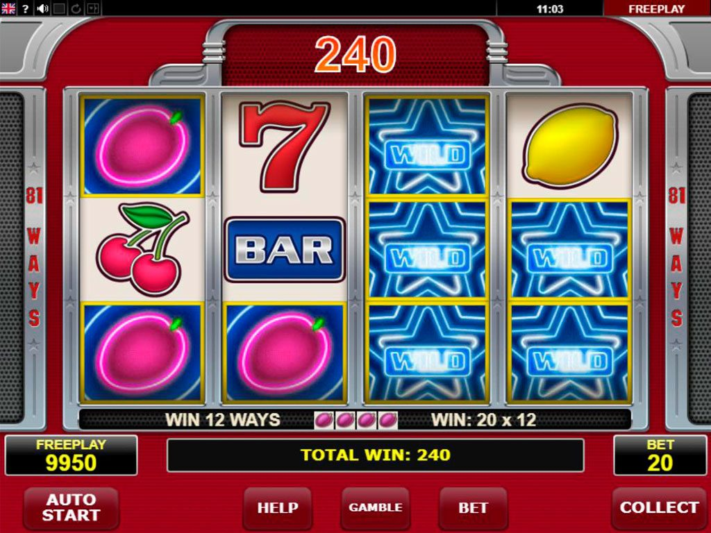 Hot 81 Slot Machine Review