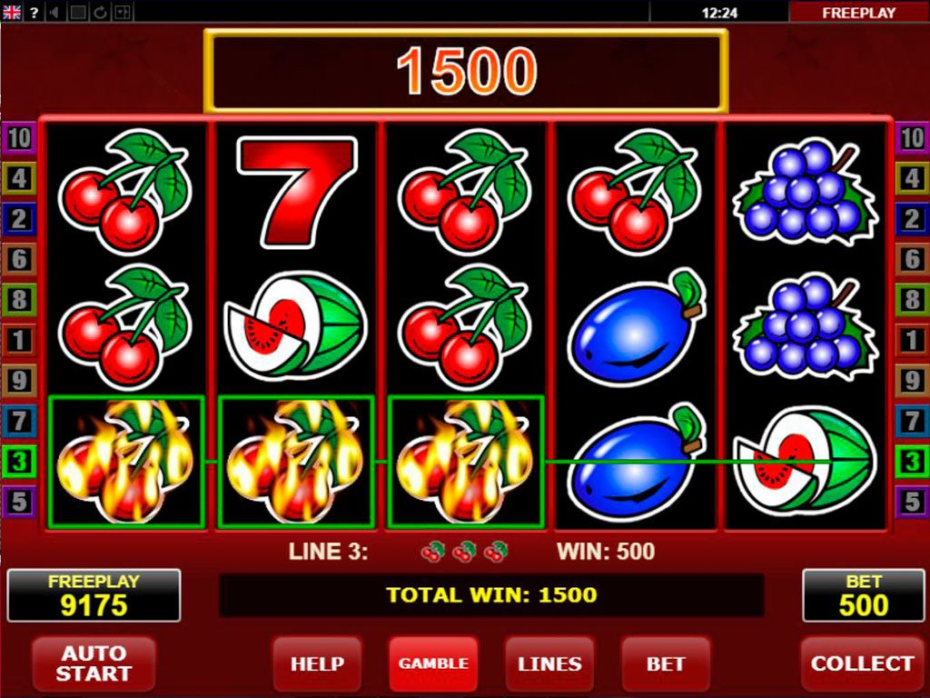 Hot Scatter Slot Machine Review