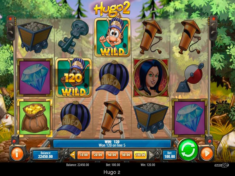 Hugo 2 Slot Machine Review