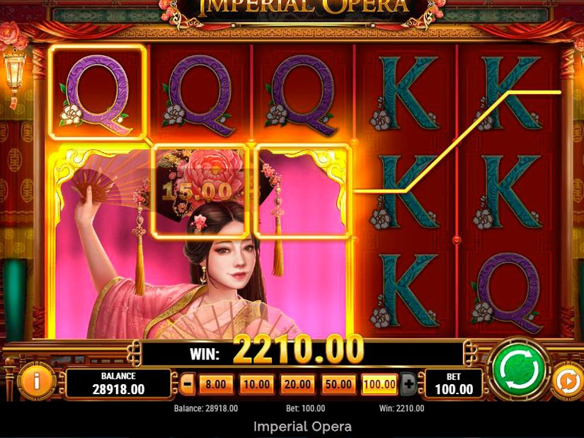Imperial Opera Slot Machine Review