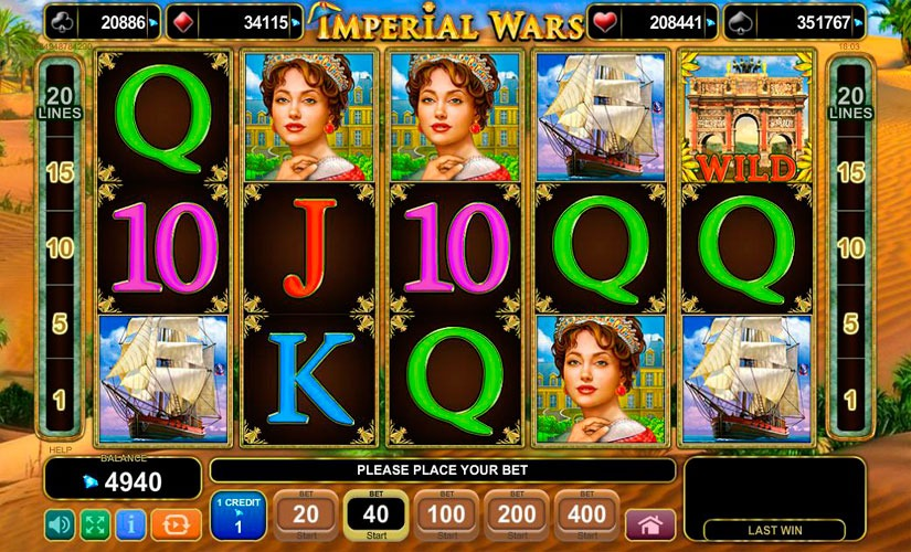 Imperial Wars Slot Machine Review