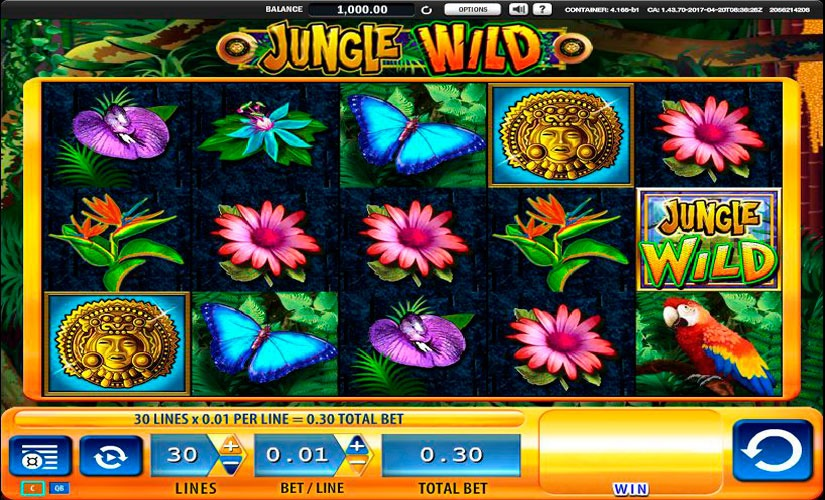 Jungle Wild 3 Slot Machine Online