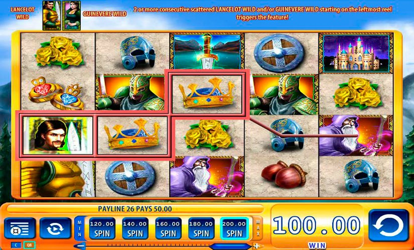 Lancelot Slot Machine Review