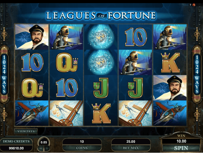 Leagues of Fortune Slot Machine Online