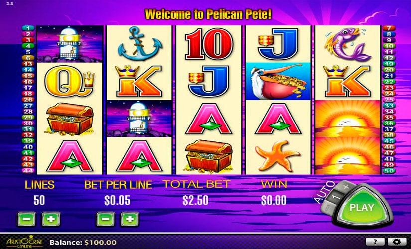 Pelican Pete Slot Machine Online