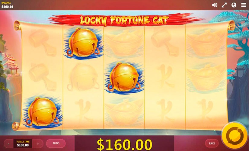 Lucky Fortune Cat Slot Machine Online
