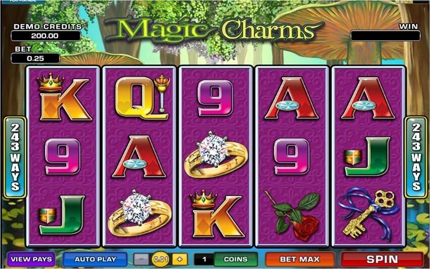 Magic Charms Slot Machine Online
