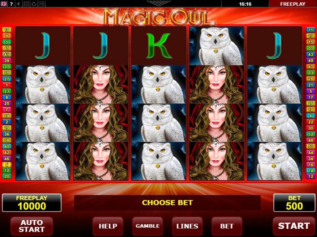 Magic Owl Slot Machine Review