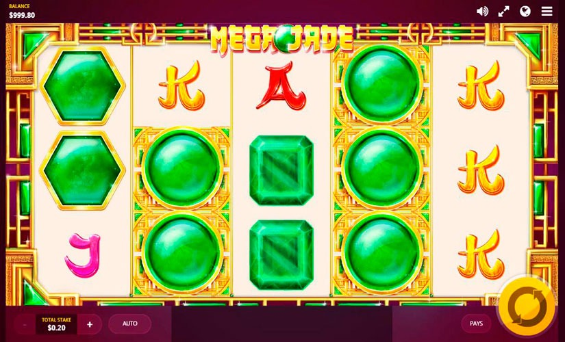 Mega Jade Slot Machine Online