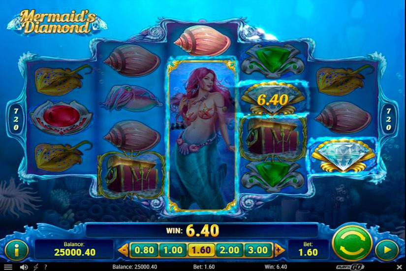 Mermaids Diamond Slot Machine Review