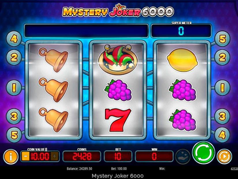 Mystery Joker 6000 Slot Machine