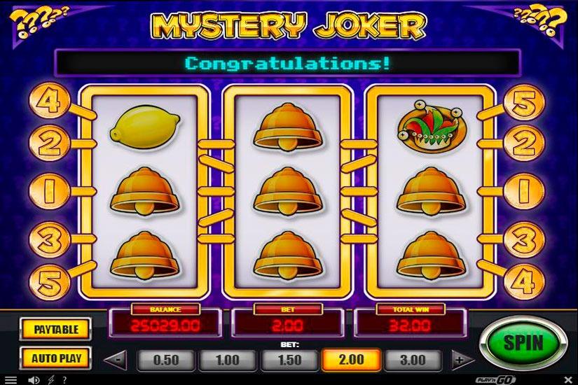 Mystery Joker Slot Machine Review
